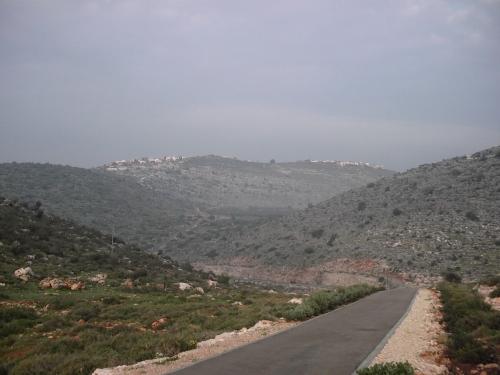 hills around Karmiel