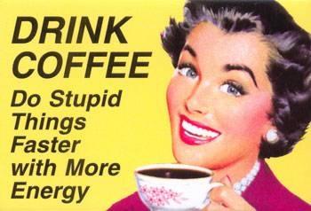 Love that coffee!